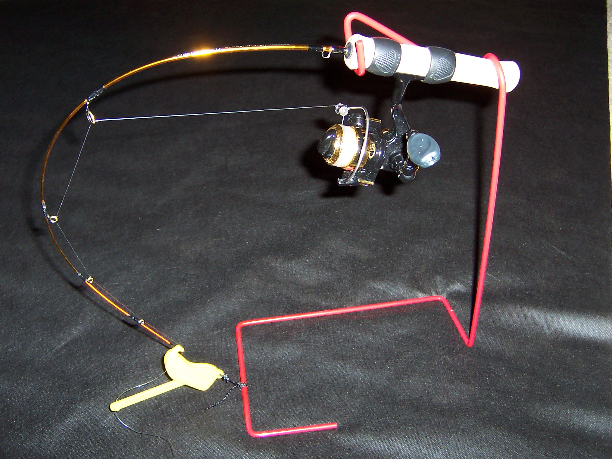 Ebay for Ice fishing rod holders